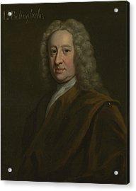 Portrait Of Henry St John Acrylic Print by Charles Jervas
