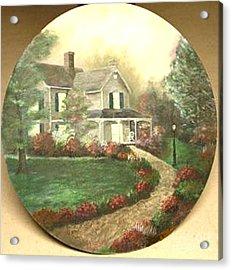 Portrait Of Home Acrylic Print by Nicholas Minniti