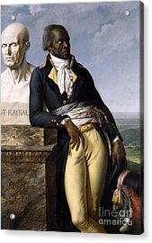 Portrait Of Jean-baptiste Belley Acrylic Print by Anne Louis Girodet de Roucy-Trioson