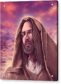 Portrait Of Jesus Acrylic Print