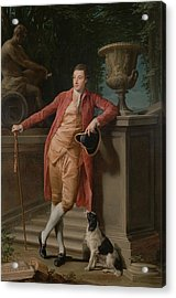 Portrait Of John Talbot - Later 1st Earl Talbot Acrylic Print by Mountain Dreams