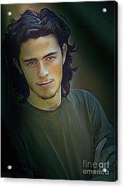 Portrait Of Josh  Acrylic Print