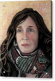 Portrait Of Katy Desmond, C. 2017 Acrylic Print