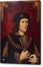 Portrait Of King Richard IIi Acrylic Print