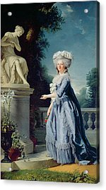 Portrait Of Marie-louise Victoire De France Acrylic Print