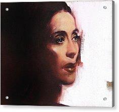 Portrait Of Martha Graham Acrylic Print