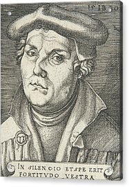 Portrait Of Martin Luther, 1530  Acrylic Print