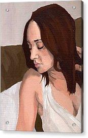 Portrait Of Nikitah Acrylic Print