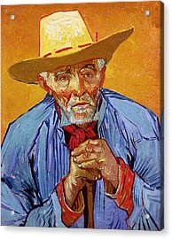 Portrait Of Patience Escalier Acrylic Print by Vincent van Gogh