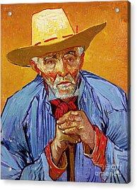 Portrait Of Patience Escalier Acrylic Print by Vincent van Gogh