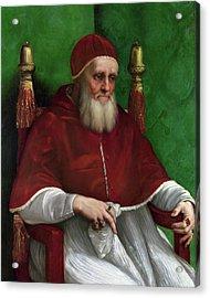 Portrait Of Pope Julius II - 1511 Acrylic Print by Raphael