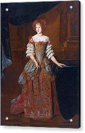 Portrait Of Princess Teresa Pamphili Cybo Acrylic Print