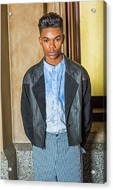 Acrylic Print featuring the photograph Portrait Of School Boy 15042624 by Alexander Image