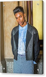 Acrylic Print featuring the photograph Portrait Of School Boy 15042625 by Alexander Image