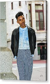 Acrylic Print featuring the photograph Portrait Of School Boy 15042637 by Alexander Image