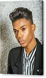 Acrylic Print featuring the photograph Portrait Of School Boy 15042652 by Alexander Image