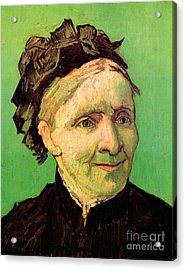 Portrait Of The Artist S Mother Acrylic Print