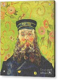Portrait Of The Postman Joseph Roulin 2 Acrylic Print