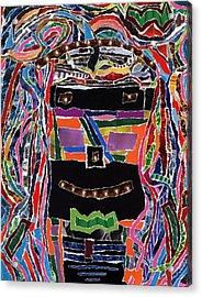 portrait of who   U  Me       or      someone U see  Acrylic Print