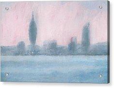 Portsmouth Dawn Part Six Acrylic Print by Alan Daysh