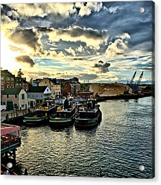 Portsmouth Harbor 2 Framed Print Can Be Seen On Set Of Abcs Desperate Housewives Acrylic Print