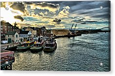 Portsmouth Harbor Acrylic Print by Edward Myers