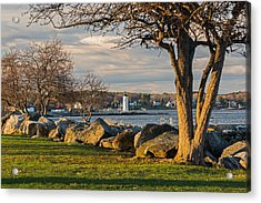 Portsmouth Harbor Light At New Castle Commons Acrylic Print