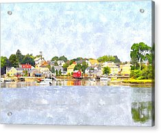 Portsmouth Nh South End Psewc Acrylic Print
