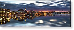 Portsmouth Waterfront Panorama Acrylic Print