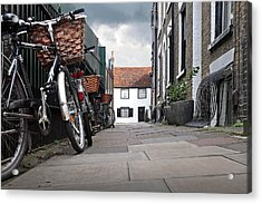Acrylic Print featuring the photograph Portugal Place Cambridge by Gill Billington