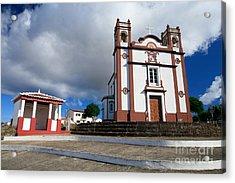 Portuguese Church Acrylic Print by Gaspar Avila