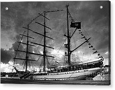 Portuguese Tall Ship Acrylic Print