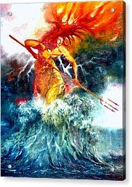 Poseidon Acrylic Print