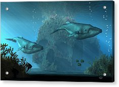 Poseidon's Grave Acrylic Print by Daniel Eskridge
