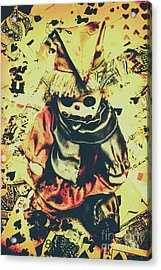 Possessed Vintage Horror Doll  Acrylic Print by Jorgo Photography - Wall Art Gallery