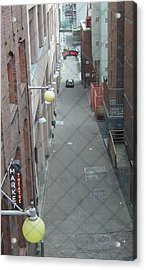 Post Alley Acrylic Print by Rick Repp