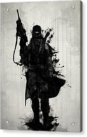 Post Apocalyptic Warrior Acrylic Print by Nicklas Gustafsson