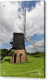 Post Mill Windmill Acrylic Print by Steev Stamford
