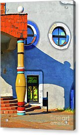 Post Of Hundertwasser Acrylic Print
