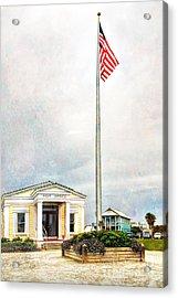 Post Office In Seaside Florida Acrylic Print by Vizual Studio