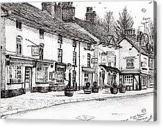 Post Office  Prestbury Acrylic Print