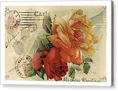 Postal Acrylic Print