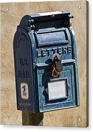 Postbox 61419 Acrylic Print