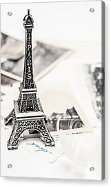Postcards And Letters From Paris Acrylic Print by Jorgo Photography - Wall Art Gallery