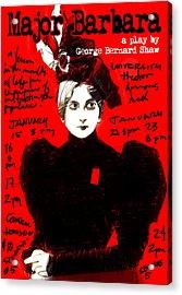 Poster For Major Barbara Acrylic Print