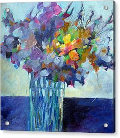 Posy For Lavender Lovers Acrylic Print