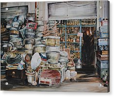Pot-pourii Acrylic Print by P Anthony Visco