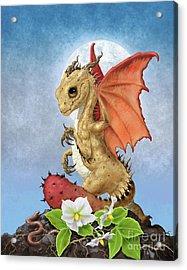 Potato Dragon Acrylic Print by Stanley Morrison