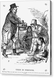 Potato Famine, 1846 Acrylic Print by Granger