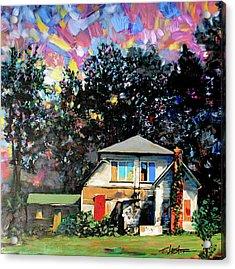 Potential On Elm Street Acrylic Print
